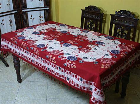 Taplak Meja Makan Grosir taplak meja makan batik tmm 03 katalogumais