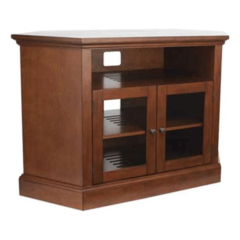 32 Inch Tv Cabinet by Sanus Basic Foundations Corner Tv Cabinet For 32 52 Inch
