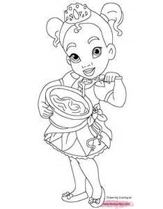 little princesses printable coloring pages disney