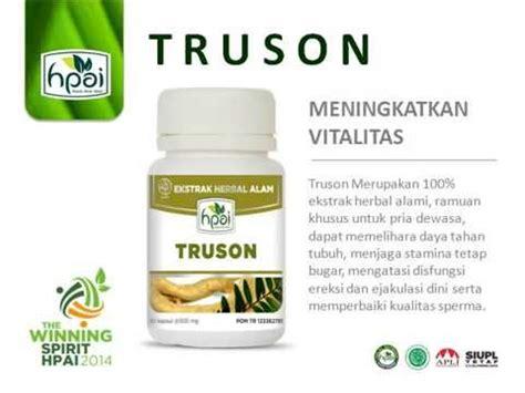 truson herbal vitalitas pria dewasa