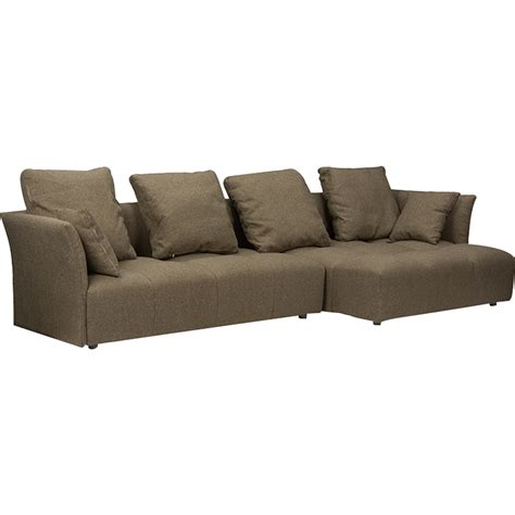 right facing sectional sofa abbott right facing sectional sofa brown dcg stores