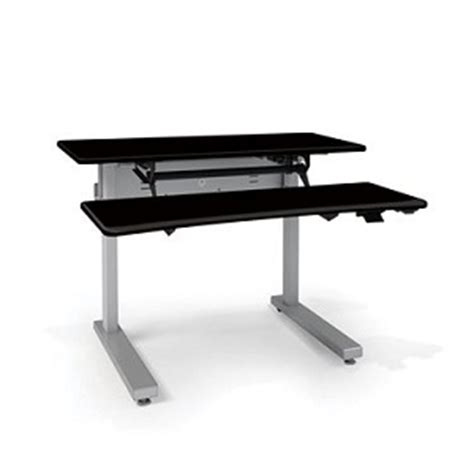 Elevating Desk Work Surface by Anthro Elevate Ii Adjusta Standing Desks