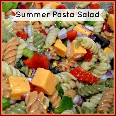 recipe of the week summer pasta salad fundcraft summer pasta salad recipe summer italian pasta and