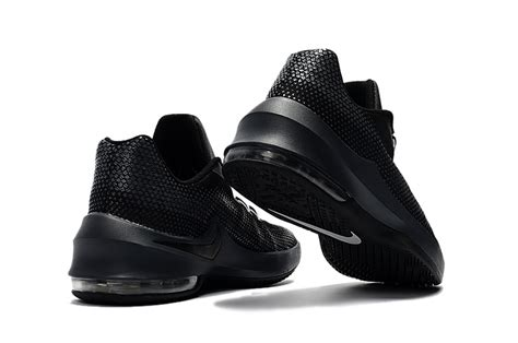 nike air max infuriate low basketball shoes 2017 blackout
