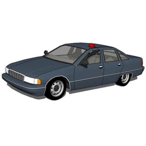 chevrolet caprice police set 3d model formfonts 3d