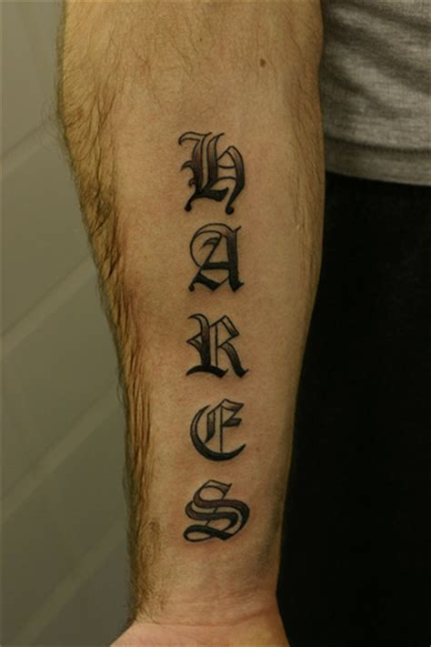 tattoo letter shading designs lettering shaded forearm flickr