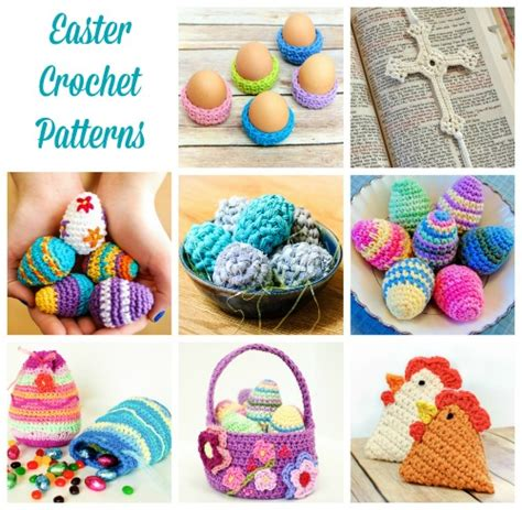 crochet pattern easter free easter crochet patterns