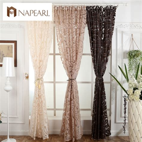 Modern Decorative Curtains Jacquard modern fashion curtain panel decorative curtains jacquard