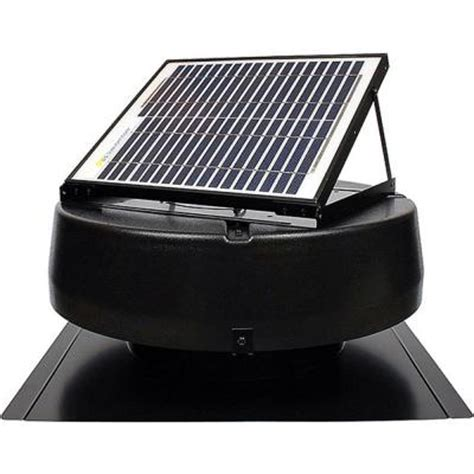 us sunlight sunfan 10 watt solar powered attic fan 9910tr
