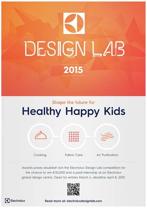 delaware design lab calendar electrolux design lab 2015 healthy happy kids