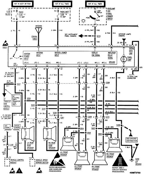 1999 chevy tahoe wiring diagram fresh 2003 chevy