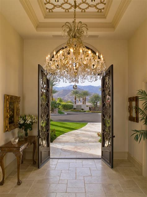 How To Decorate Front Entrance
