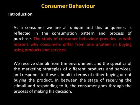Consumer Behaviour Notes For Mba by 1 Mba Cb Introduction 2015