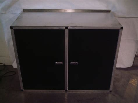 Midwest Race Cabinets by Aluminum Counter Tops 24 Or 47 Base Cabinets