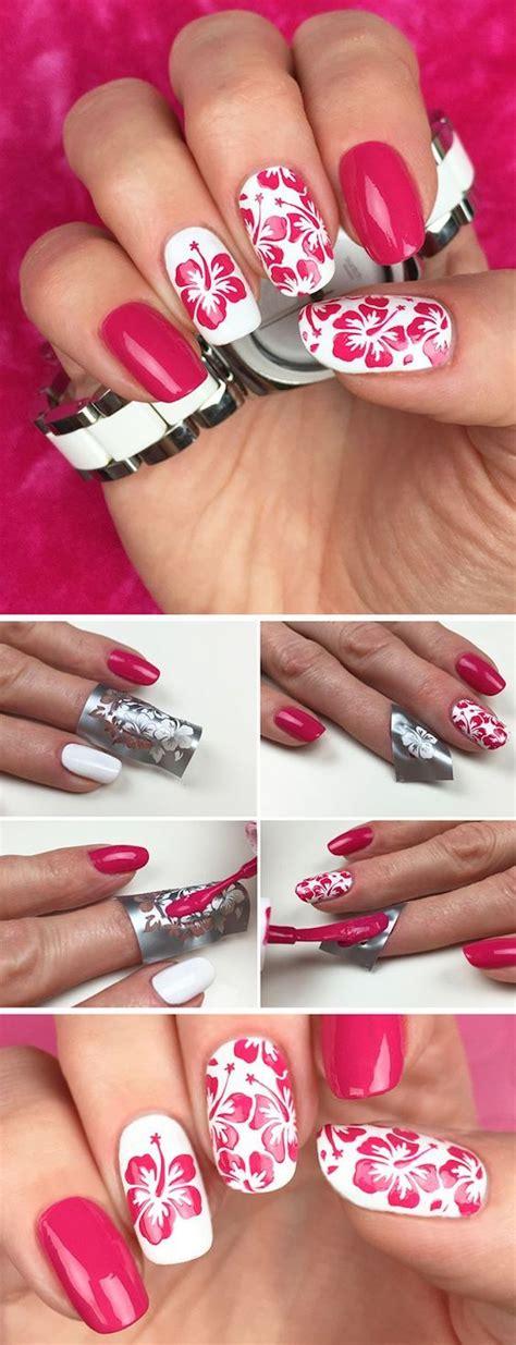 Fingern Gel Schwarz Wei 4488 by Die Besten 25 N 228 Gel Muster Ideen