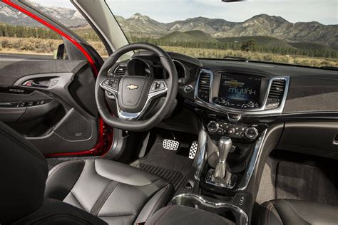 Chevy Ss Interior by 2016 Chevrolet Ss Gets A Styling Update Autotribute