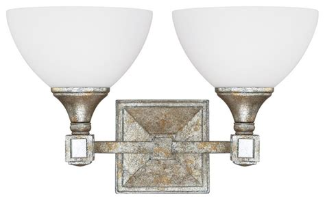 Modern Gold Bathroom Lighting Capital Lighting Palazzo 2 Light Bath Vanity Light Silver