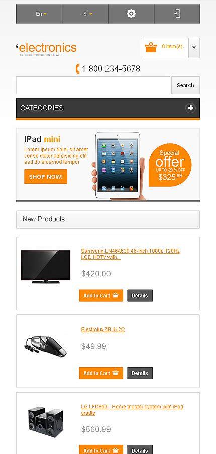 magento themes electronics store electronics store magento theme 42969