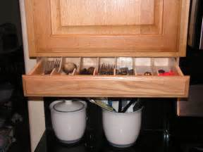 Under Cabinet Kitchen Storage under cabinet drawer silverware storage flatware organizer cabinet