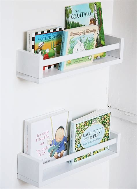 ikea spice racks as bookshelves teachernerdness