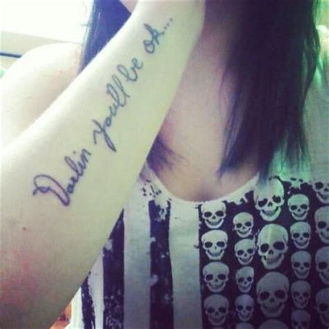 pierce the veil tattoo my the veil