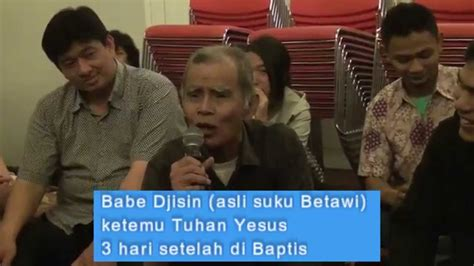 Hari Tuhan ketemu tuhan yesus 3 hari setelah di baptis