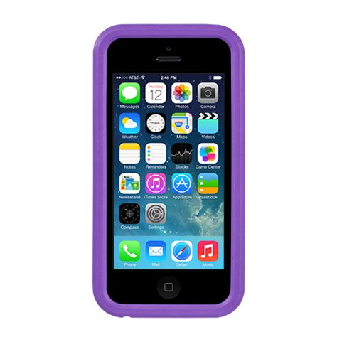 Purple Limited 360 Protectection Back Cover Iphone 7 7s nuguard kx protective for iphone 5c purple