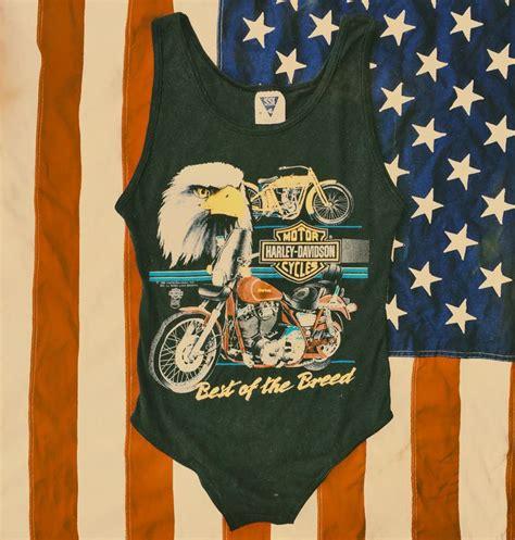 Vintage Apparel 9 Tshirtkaosraglananak Oceanseven vintage renewed harley bodysuit www shopbackbite jersey tops