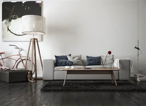 livingroom wall spacious modern living room interiors