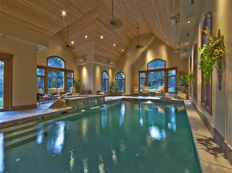architecture luxury home plans with indoor pool swimming