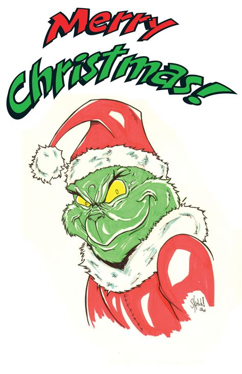 images of christmas grinch christmas grinch by sketchheavy on deviantart