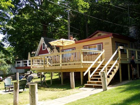 hamlin lake cottage rentals kp s guest house cozy cottage overlooking vrbo
