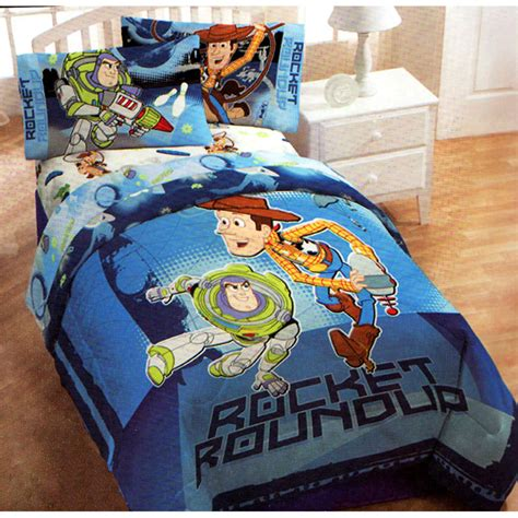toy story twin bedding toy story comforter buzz lightyear woody cowboy blue twin