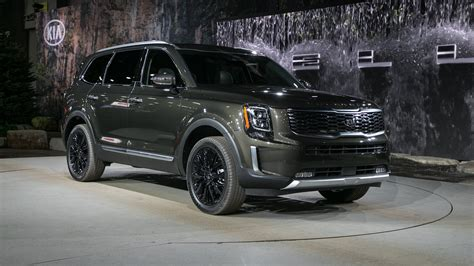 kia new models 2020 the 2020 kia telluride is a handsome three row suv with