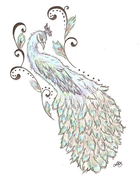tribal peacock tattoo peacock back design by cupcake lakai on deviantart