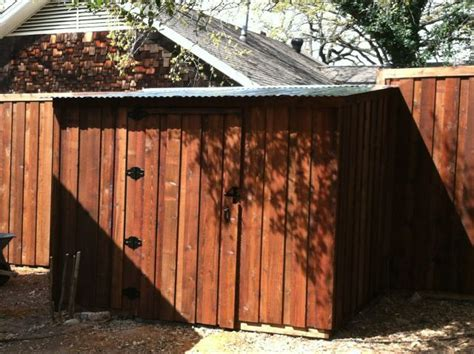 Shed Fence by Storage Shed Pictures Best Fence