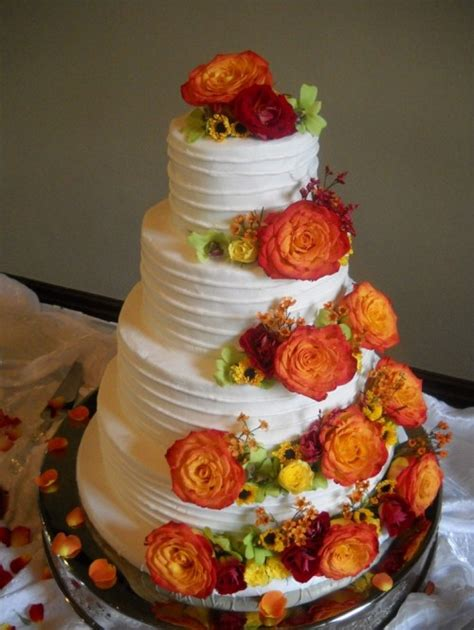 Simple Wedding Cake Ideas For Fall by 24 Great Ideas For Fall Wedding Cake Decoration Style