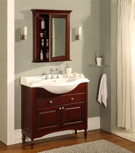 empire industries 38 quot shallow depth vanity with