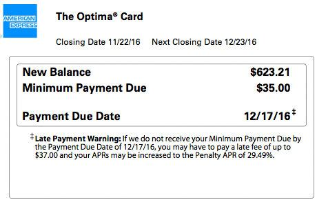 Credit Card Overdue Letter A Major Change To Amex Due Dates The Frequent Miler