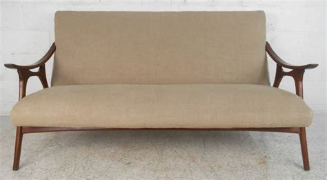 Mid Century Modern Style Sofa Mid Century Modern Hvidt Style Sofa For Sale At 1stdibs