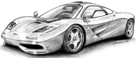 mclaren f1 drawing mclaren f1 by spagi on deviantart