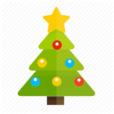 new year icon tree gift new year icon