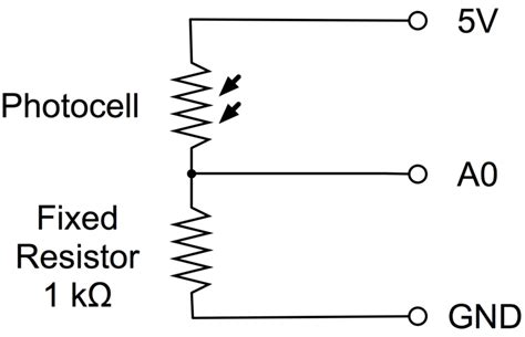 resistor ldr pdf photocells arduino lesson 9 sensing light adafruit learning system