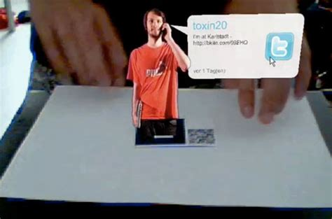 how to make augmented reality cards augmented reality business card