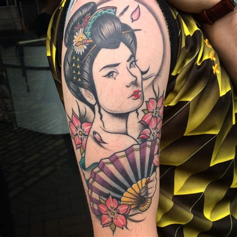 traditional japanese geisha tattoo meaning 52 japanese geisha tattoos ideas and meanings