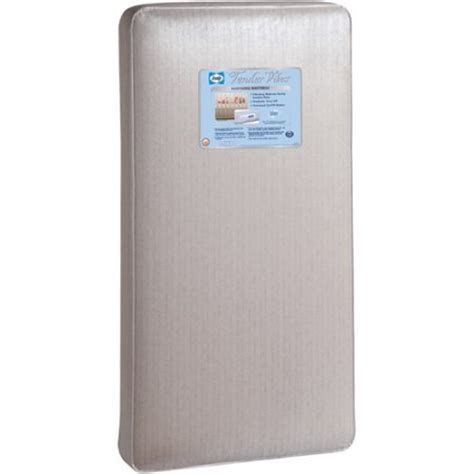 width of crib mattress sealy tender vibes crib mattress em801 walmart