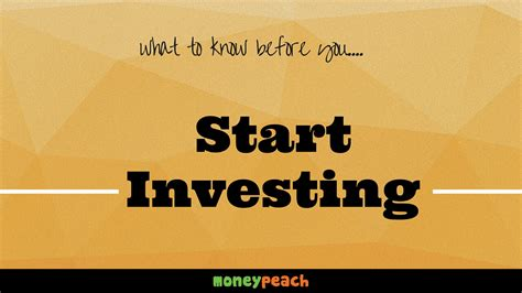 The Power Of Pre Knowing by The Power Of Knowing When To Start Investing Money