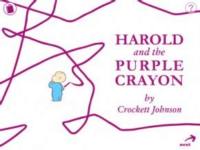 reactions to the color purple book harold and the purple crayon lets your child participate