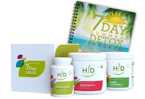 Does Detox Kit Work by Specials And Promos Hallelujah Diet