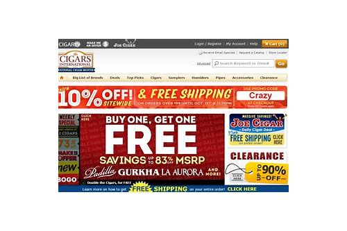 coupons for cigars international
